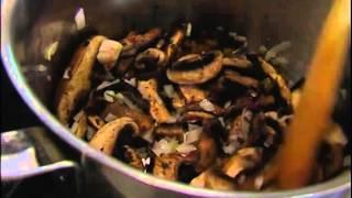 Юлия Высоцкая — Суп из брокколи с грибами