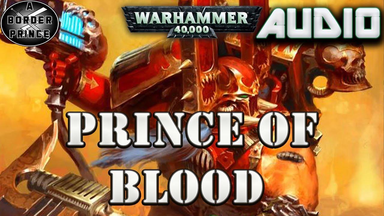 Warhammer 40k Audio: Horus Heresy Prince of Blood By LJ Goulding