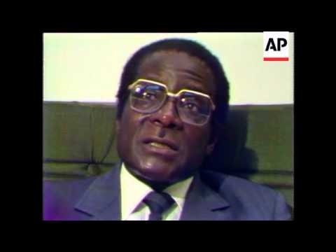 Robert Mugabe interview