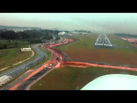 Landing at Seletar