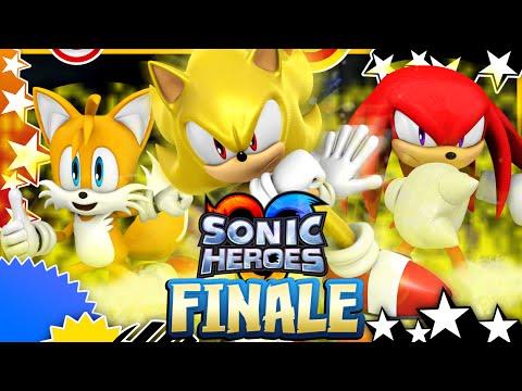 Sonic Heroes (HD) - Last Story - FINALE
