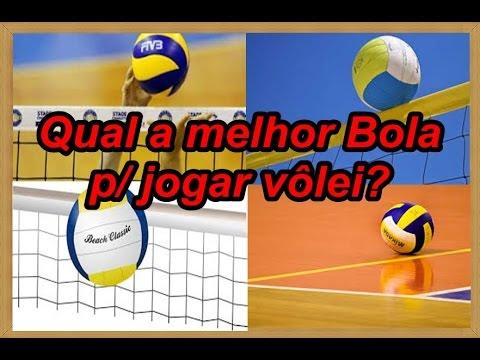 VOLEIBOL QUAL A MELHOR BOLA PARA SE JOGAR VÔLEI DE QUADRA E PRAIA ... 75fa896171784