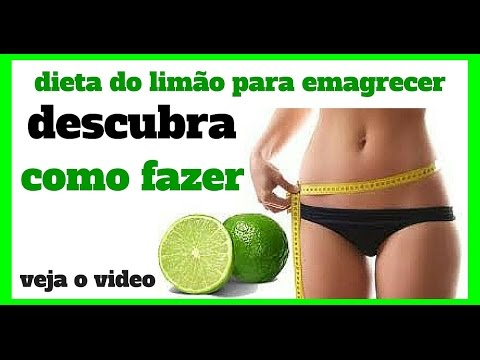 como perder 1 kilo por dia com a dieta do limão