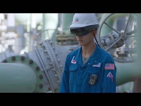 Chevron Uses Microsoft HoloLens To Make Virtual Teleportation A Reality