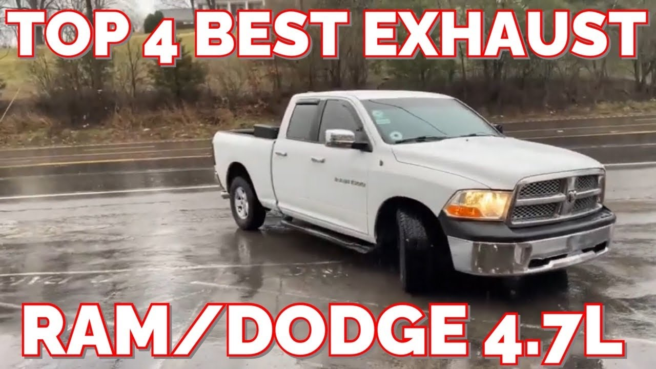 Top 4 Best Exhaust Set Ups For Ram Dodge 4 7l V8 Youtube