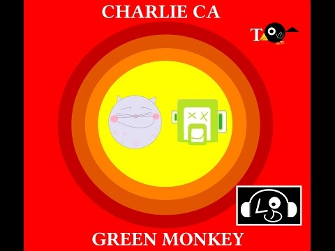 Charlie Cat  Alright Charlie!  Charlie the Space Rider Cat and Green Monkey
