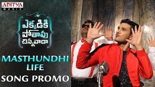 Masthundhi Life Song Promo || Ekkadiki Pothavu Chinnavada Movie || Nikhil, Hebbah Patel