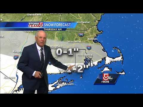 Video: Winds through the evening, temps in low 20s