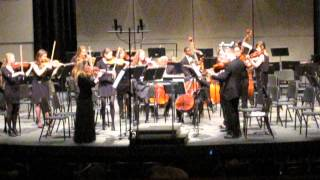 Concerto in B minor for 4 Violins, Op.3, No. 10 (Vivaldi) UNH String Ensemble