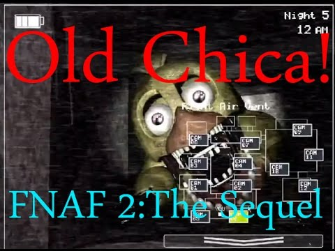 Old/Withered Chica!-Five Nights At Freddy's 2:The Sequel Breakdown (#6)