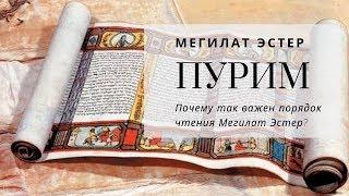 Праздник Пурим. Мегилат Эстер | Урок от директора портала Ваикра р. Яакова Шатагина