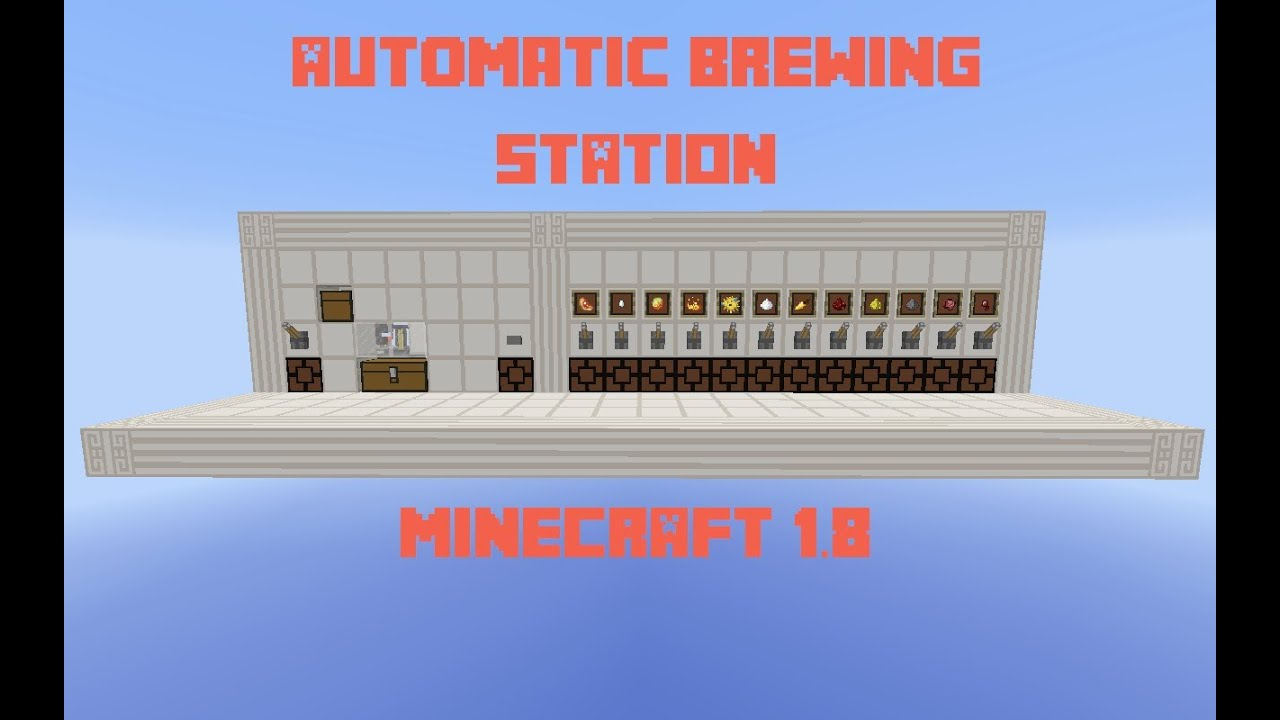 Automatic Brewing Station Selectable And Compact Minecraft 18 YouTube