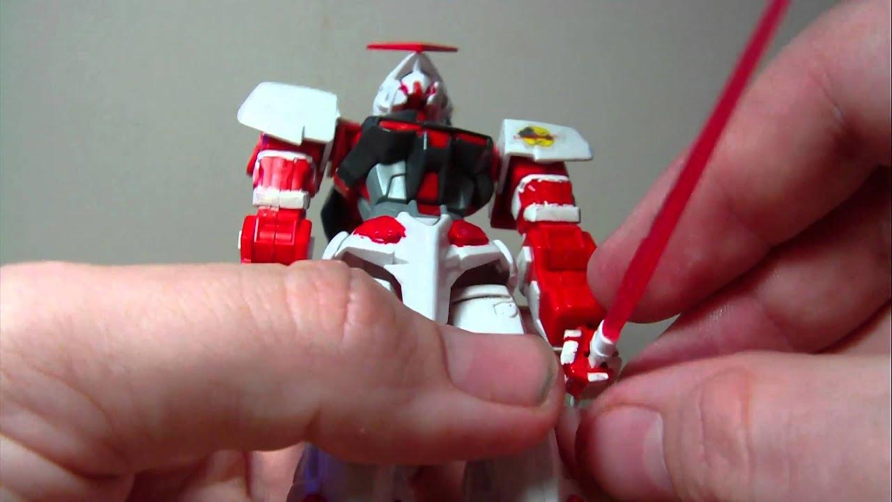 1/144 HG Gundam Astray Red Frame Review - YouTube