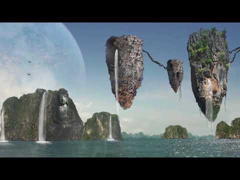 Kingston University student work 'Phyo: Mythical Landscape'