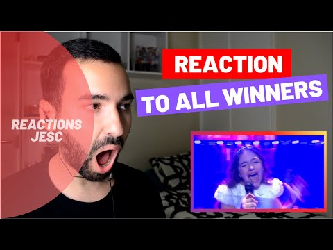 Reaction: All JESC Winners!