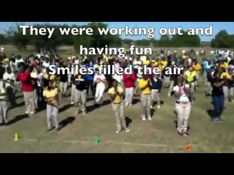 Let's Move flash workout - Welch Middle School.mov