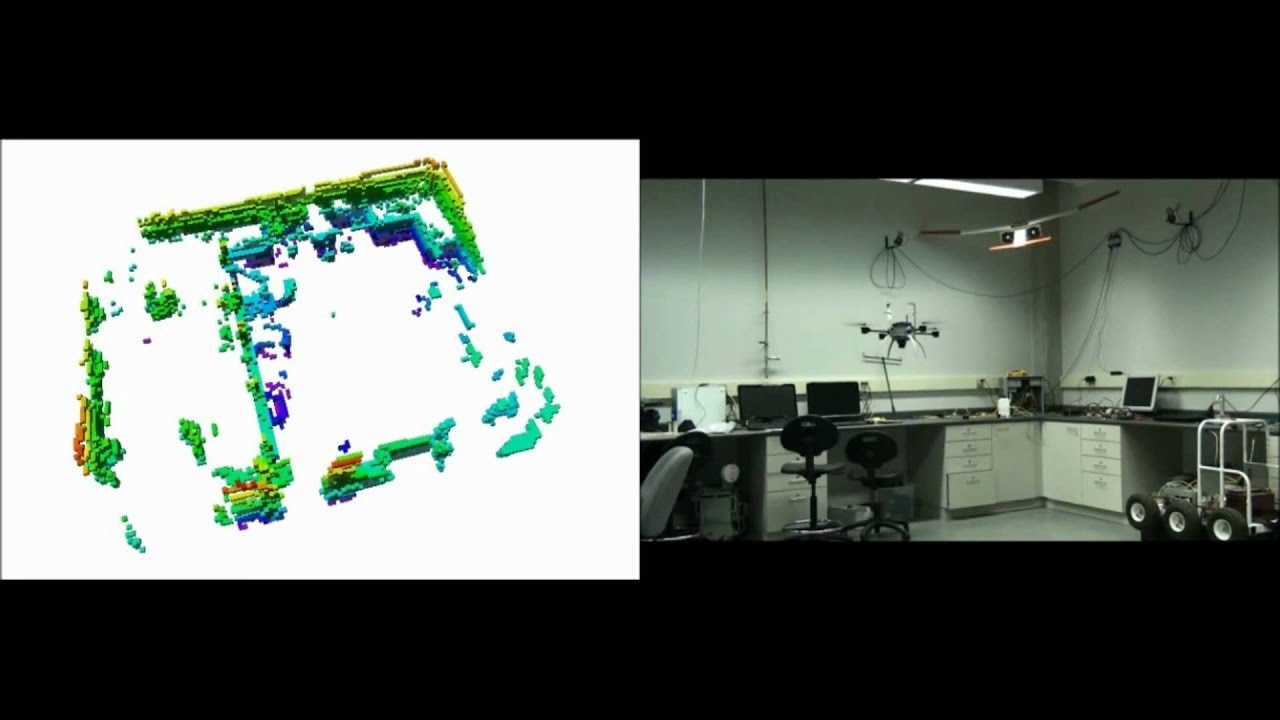 3D Occupancy Grid Mapping using a Aeryon Scout Quadrotor and Octomaps