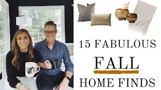 15 FABULOUS FALL FINDS YOU NEED TO DECORATE YOUR HOME FOR FALL 2021 | FALL HOME DECORATING IDEAS