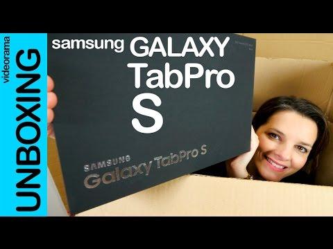 Samsung Galaxy TabPro S unboxing en español | 4K UHD