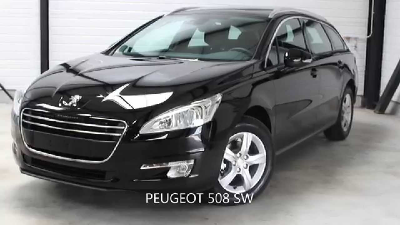 peugeot 508 sw active hdi 140 noir perla youtube. Black Bedroom Furniture Sets. Home Design Ideas