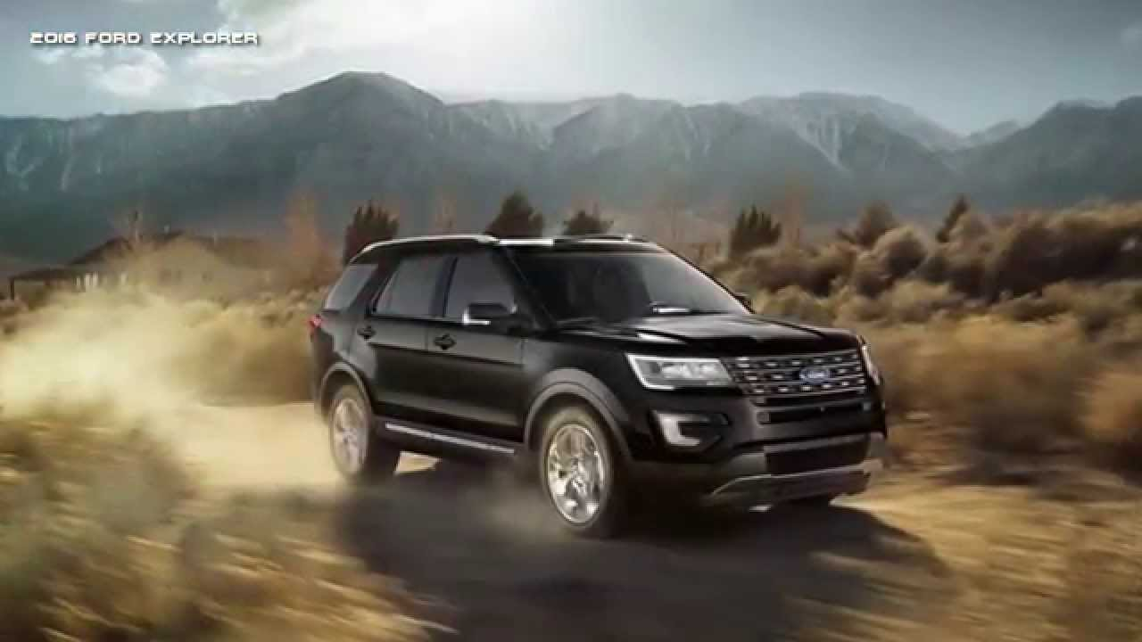 2016 Ford Explorer Full Size Suv The Most Luxurious You Ve Ever Seen