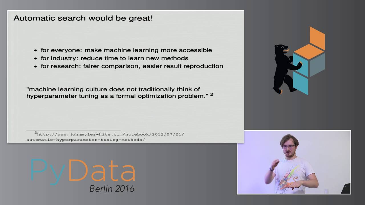 Moritz Neeb - Bayesian Optimization and it's application to Neural Networks