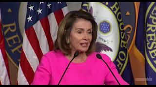 Nancy Pelosi Reacts to Trump