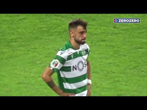 Bruno Fernandes farewell in his last match for Sporting