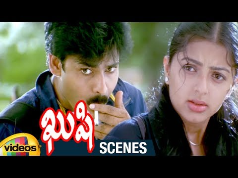 Pawan Kalyan Trolls Bhumika | Kushi Telugu Movie Scenes | Ali | Kushi Movie Best Comedy Scene