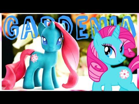 GARDENIA GLOW! Custom My Little Pony Toy DIY! MLP OOAK!