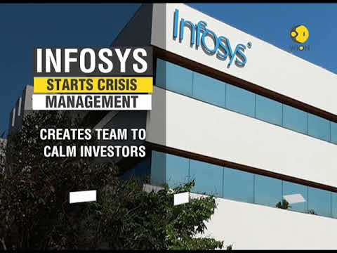 INFOSYS management starts crisis management, creates team to calm investors
