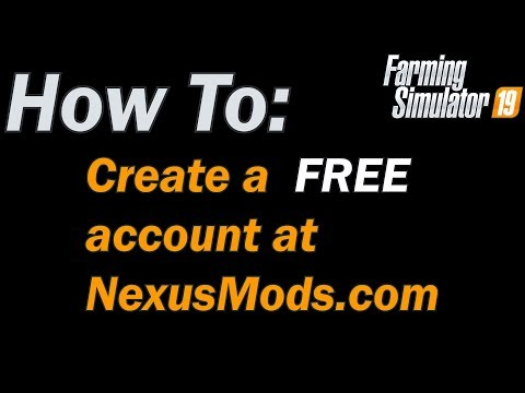 How To: Create A FREE Account At NexusMods
