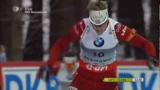 17.02.2013 Biathlon WM Nove Mesto Massenstart Winner Tarjei Bø(full)