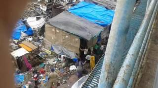 Department Demolishing Illegal house near Bandra Station East - 2
