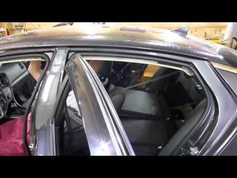 Full Premium soundproofing of Kia Optima. +bonus (test before and after)