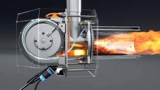 польская ретортная горелка для автоматического угольного котла Bitherm 25 кВт авто(, 2016-04-15T15:00:07.000Z)