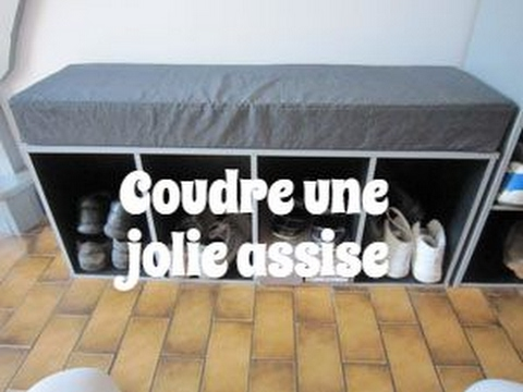 couture faire une assise de banc ou de meuble avec de la mousse tr s confortable. Black Bedroom Furniture Sets. Home Design Ideas