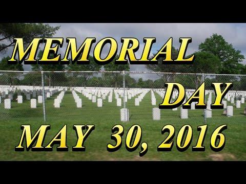 MEMORIAL DAY 2016 -     A UNIQIUE MEMORIAL