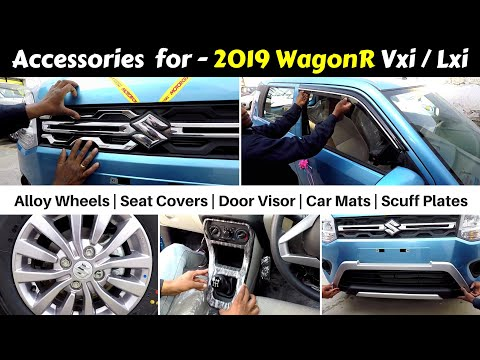 Wagon R Accessories With Prices | Vxi / Lxi | Ujjwal Saxena