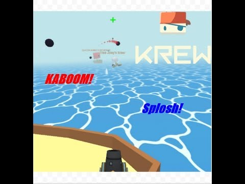 Transporting Cargo and FIGHTING OFF PIRATES - Krew.io gameplay