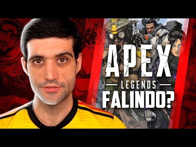 Apex Legends fracassou totalmente? E 2 bilhões de contas excluídas
