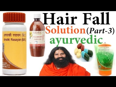 Hair fall Solution Series [Part 3] Ayurvedic Treatment with Science with 100% Solution