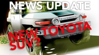 New Toyota FJ Concept, Dieselgate Update and the Monster Truck Front Flip: Weekly News Roundup