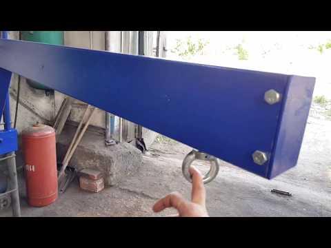 Консольный настенный кран а на 1000 кг