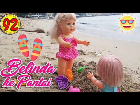 #92 Belinda Pergi Ke Pantai - Boneka Walking Doll Cantik Lucu -7L | Belinda Palace