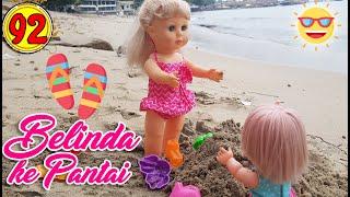 #92 Belinda Pergi Ke Pantai - Boneka Walking Doll Cantik Lucu -7L   Belinda Palace