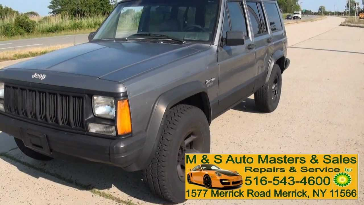 1993 Jeep Cherokee 4.0 Sport 4WD XJ - YouTube