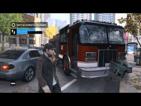 Watch Dogs Multiplayer Gameplay - Online Hacking Part 2