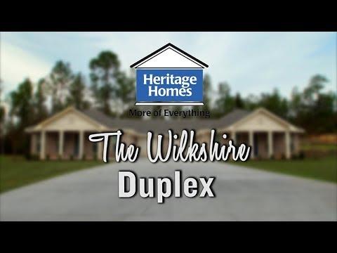 Heritage Homes | Wilkshire Duplex -  Video Tour