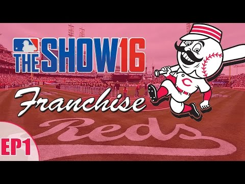 MLB The Show 16: Cincinnati Reds Franchise - Year 1 Game 2 [EP1]